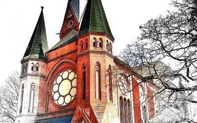 Pauluskirche in Dessau.tifaaaaaaaaaaaaaaaaaaaaaaaa